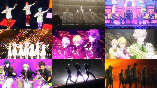 "วง ST☆RISH, QUARTET NIGHT และ HE★VENS ได้ ใน ""Uta no Prince-sama The Movie Maji LOVE Kingdom"""