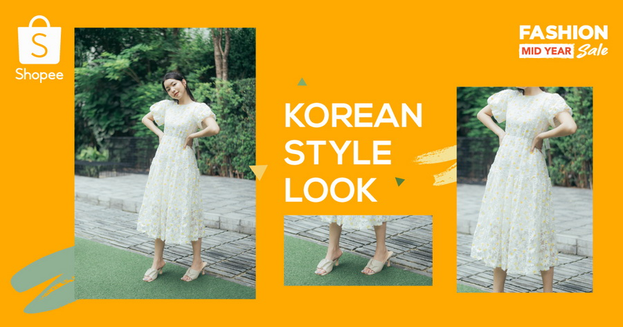 Korean Style Look