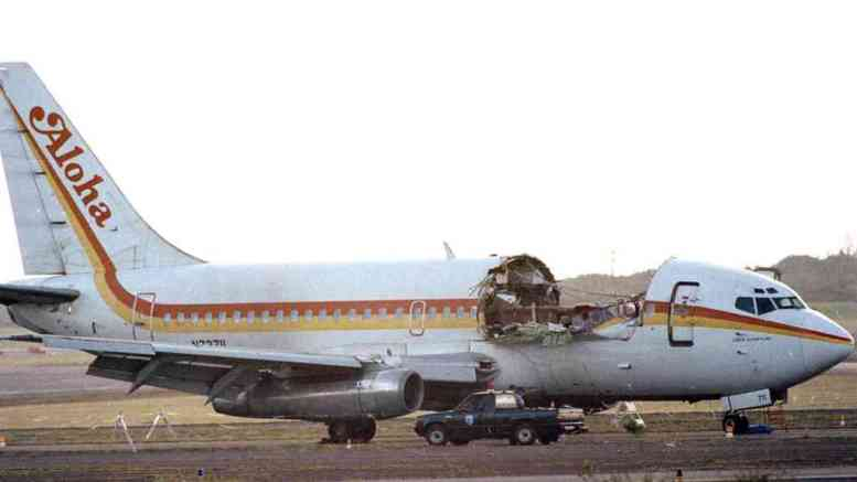 Aloha Airlines Boeing 737-297 - Photo credit: Wikipedia
