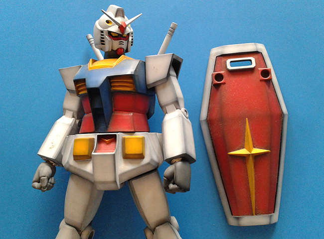 40 Years Aniversary RX 78 -2 1/60 Ver Ku Anime Series  โดย gon pumjorn